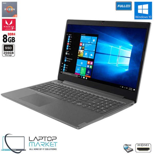 "New Sealed Lenovo V155-15API, 15.6"" Full HD Laptop, AMD Ryzen R3 Processor, 8GB RAM Memory, 256GB Solid State Drive, AMD Radeon Vega 8 Graphics"
