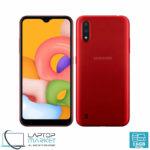 Brand New Sealed Samsung Galaxy A01 SM-A015F/DS, Unlocked Dual SIM, Red Smartphone, Octa-Core Processor, 2GB RAM, 16GB Storage, Dual 13MP Camera