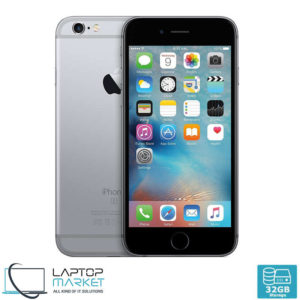 Apple iPhone 6s 32GB Gray, 2GB RAM, Apple A9 Chip with Dual-Core Processor, 12MP Primary and 5MP Secondary Camera