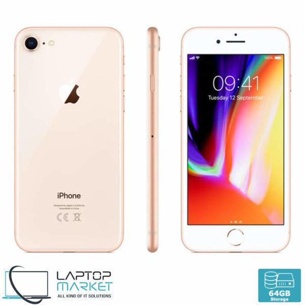 Apple iPhone 8 64GB Gold, 2GB RAM, Apple A11 Bionic Chip with Hexa-Core Processor, 12MP Camera