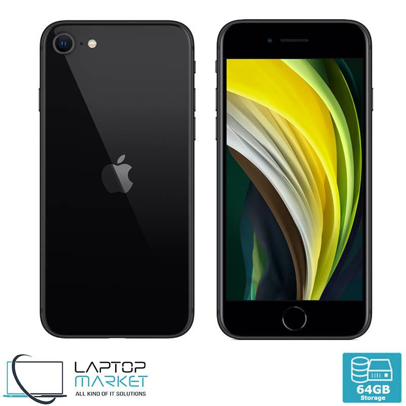 Apple iPhone SE 2nd Gen 64GB Black 3GB RAM 12MP Unlocked