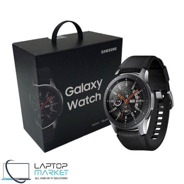 Brand New Sealed Samsung Galaxy Watch SM-R800, 46mm Silver Smartwatch, Stainless Steel Frame, Bluetooth, WiFi