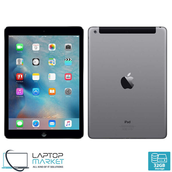 Apple iPad Air 1 A1475, Space Gray Cellular Tablet