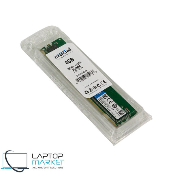 Desktop RAM DDR4 Memory Crucial CT4G4DF88266 4GB PC4-21300
