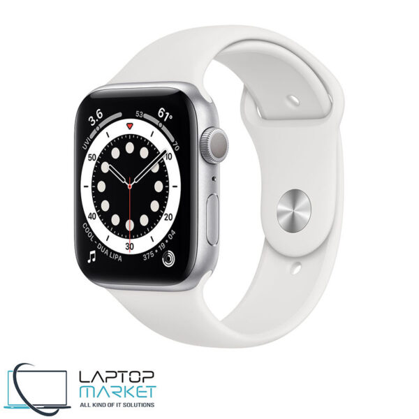 Apple Watch Series 6 GPS, 44mm, Aluminum Case, Sport Band, Model A2292 M00D3LL/A
