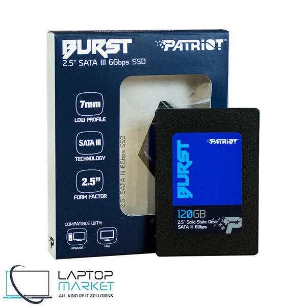 """Brand New 2.5"""" Internal Solid State Drive Patriot Burst SSD 120GB SATA III"""