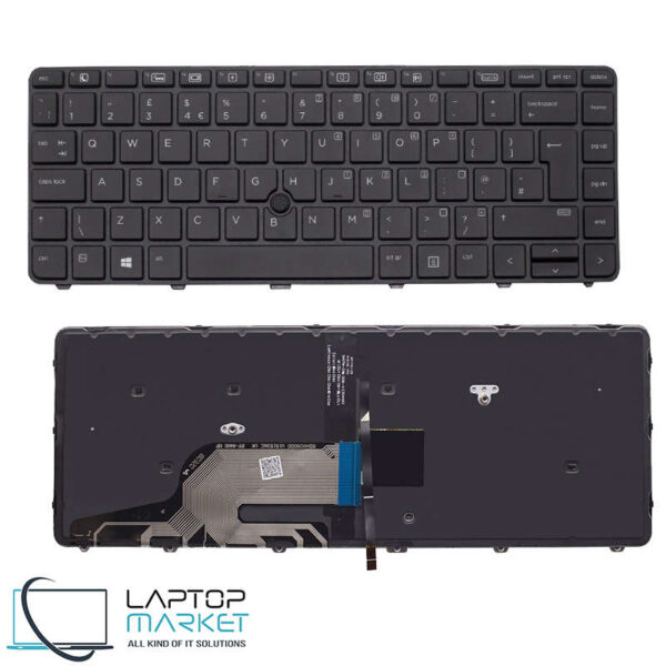New Keyboard UK Layout With Frame For HP Probook 430 G3 440 G3 430 G4 440 G4 Series
