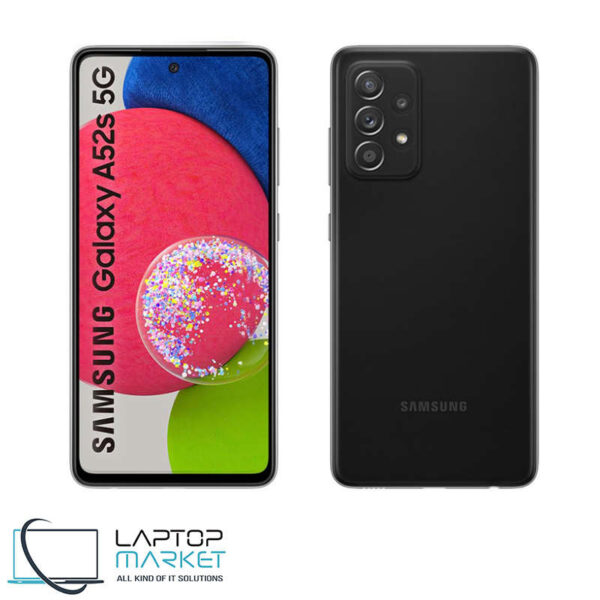 Samsung Galaxy A52s 5G, Unlocked Black Smartphone, Octa-Core Processor, 6GB RAM, 128GB Storage