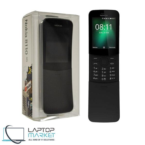 Nokia 8110 4G, Black, LTE GSM Cellular Phone
